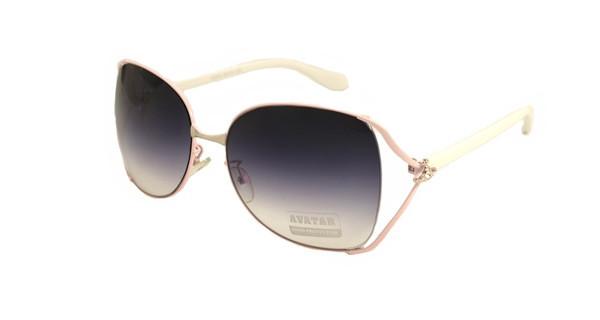Большие оригинальные женские очки от солнца Avatar