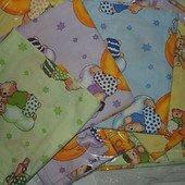 Комплект детского постельного белья разные цвета