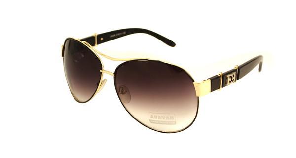 Красивые женские солнечные очки Aviator Avatar
