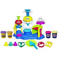 Набор пластилина набор Плей До Фабрика пирожных Play-Doh Sweet Shoppe Frosting Fun Bakery
