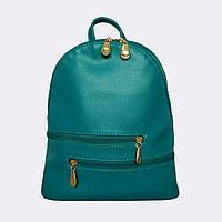 Рюкзак жіночий міський бірюзовий / Рюкзак женский городской бирюзовый