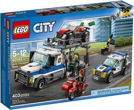 Lego City Ограбление грузовика 60143