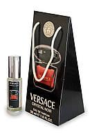 Женский мини-парфюм Versace Crystal Noir (Версаче Кристалл Ноир),30 мл в подарочной упаковке