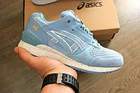 Женские кроссовки Asics Gel Lyte III Respector Blue. Живое фото! Топ  качество (Реплика d587a1dc80237