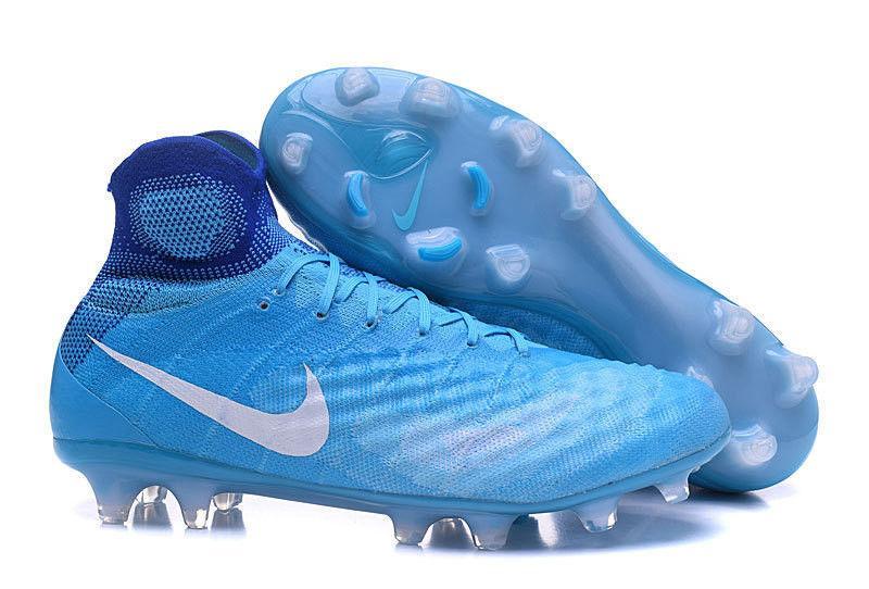Мужские бутсы Nike Magista Obra 2 FG blue
