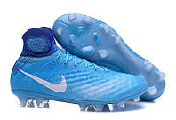 Мужские бутсы Nike Magista Obra 2 FG blue, фото 1