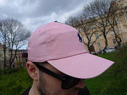 Кепка Cap by Ralph Lauren розовая. Живое фото! (Реплика ААА+)
