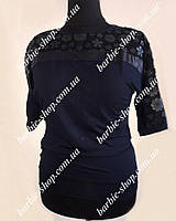 Очень красивая женская футболка с узором в расцветках 30253