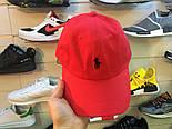 Кепка Cap by Ralph Lauren красный. Живое фото! (Реплика ААА+), фото 5