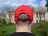 Кепка Cap by Ralph Lauren красный. Живое фото! (Реплика ААА+), фото 7