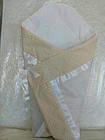 Яркое одеяло для новорожденного малыша. Весна/Лето. Польша