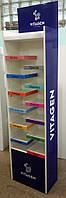 Торговая рекламная стойка стенд для торговой марки VITAGEN