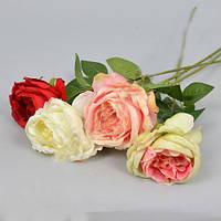 Роза 60 см Цветы искусственные