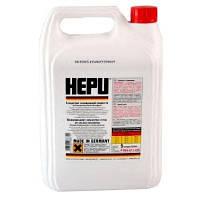 Антифриз HEPU G12 концентрат п/е 5л (червоний)