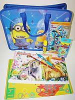 Подарочный набор выпускнику сада в портфеле для мальчика, ассорти