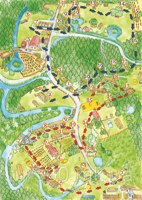 Зеленые хутора. Цветочный маршрут