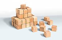 Кубики из дерева 4 × 4 (20 шт) Smart Toy Wood