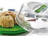 Тортовница с крышкой круглая Dunya Plastik (30х15), фото 4