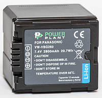 Аккумулятор PowerPlant Panasonic VW-VBG260 (Акция!!! Карандаш для чистки оптики PowerPlant за пол цены)
