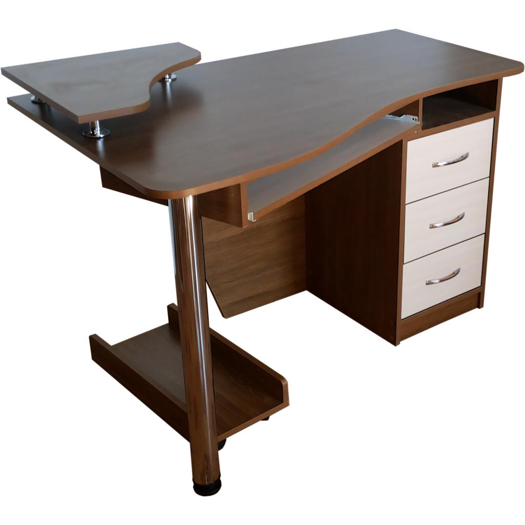 стол компьютерный угловой с надстройкой комфорт купить по лучшей