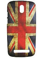Чехол для HTC Desire 500 (506e) Британский флаг