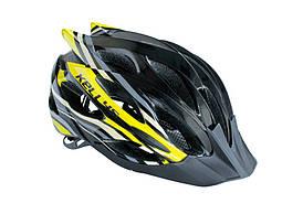 Велошлем KLS Dynamic black/yellow S/M