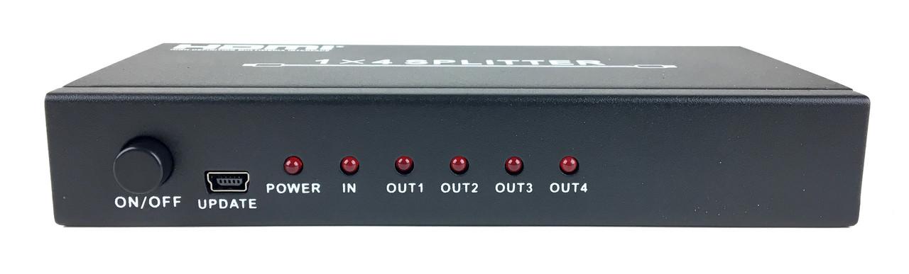 Разветвитель HDMI Wiretek WK-SH400, 1 to 4