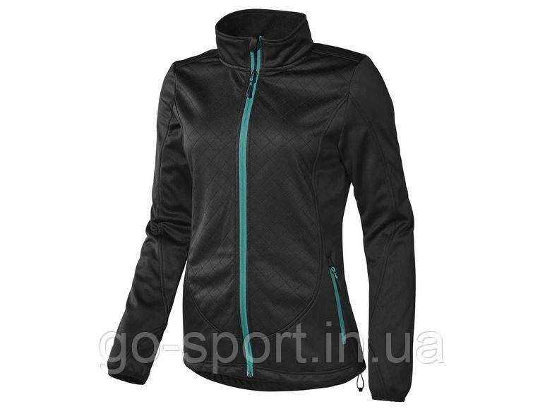Куртка женская Soft Shell Crivit, Теплая на флисе, Непродуваемая