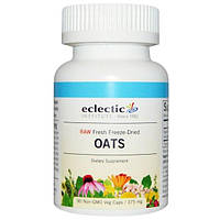 Eclectic Institute, Овес, 375 мг, 90 капсул на растительной основе