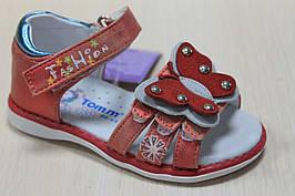 Босоножки на девочку, детские сандалии с закрытой пяткой тм Том р. 21,25