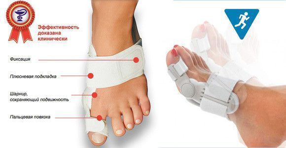 """Фиксатор Вальгусная Шина Vallufix Валюфикс (From Foot) """"лечение косточки на ноге"""" Valufix, Halufix"""