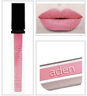 Aden Liquid Lipstick помада жидкая Sweet Peach Сладкий Персик (с перламутром) № 13, фото 1