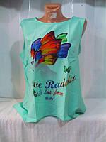 Блуза женская бабочка крепшифон опт