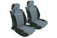 Майки сидения передние MILEX Racing  сетка серо-черные 23088/4/Р