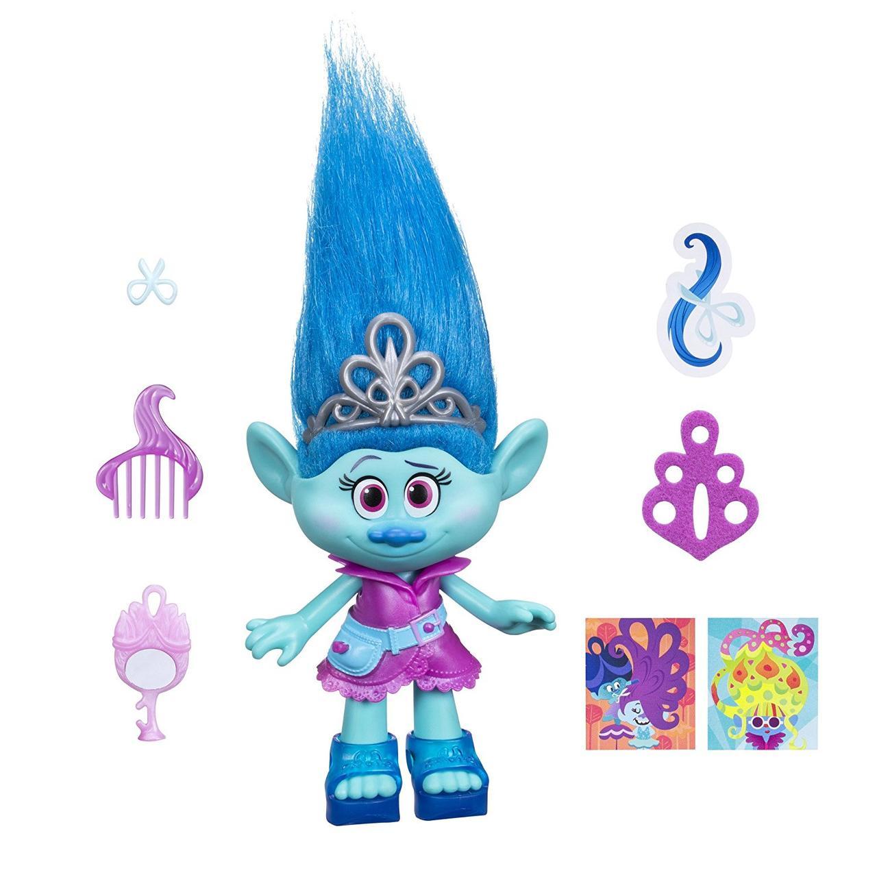 Кукла тролль Мэдди Maddy 23 см оригинал Dreamworks Trolls Maddy 9-Inch Figure
