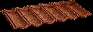 Металочерепица композитная 10 Classic Terra cotta (0,45) 1-тайл.
