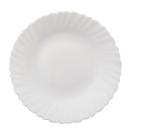 Тарелка белая плоская 19см SNT 40010-01-07