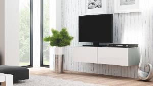 TV Тумба Livo rtv-160w навесная(белая) (Halmar)