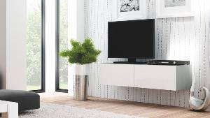 TV Тумба Livo rtv-160w навесная(белая) (Halmar), фото 2