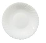 Тарелка белая суповая 22 см SNT 40010-02