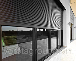 Ролети захисні зі сталевих профілів DoorHan RHS22