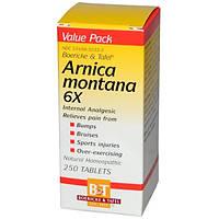 Boericke & Tafel, Арника горная 6X, 250 таблеток