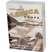 Historical Remedies, Леденцы с арникой, 30 гомеопатических пастилок