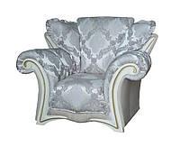 """Стильный кожаный диван """"Mayfaer"""" (Майфаер). (218 см) Кресло (128 см), Не раскладной, ткань"""