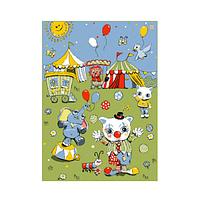 Детский ковер  из сороны