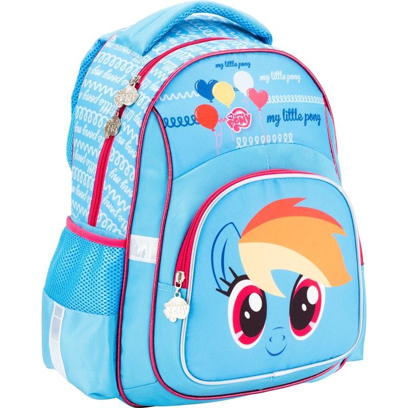 Школьный рюкзак my little pony голубой рюкзак вид чернигивского