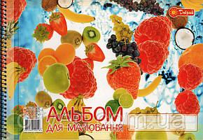 "Альбом для рисования на спирали ""Добрий"" А4, 20 листов"