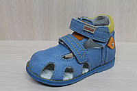 Детские кожаные босоножки для мальчика серия ортопед тм Tom.m р.18