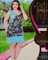 Женское летнее платье Турция. MODY 20015 Big Size. Размер 52-54.