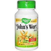 Natures Way, Зверобой, лечебное растение, 350 мг, 100 капсул